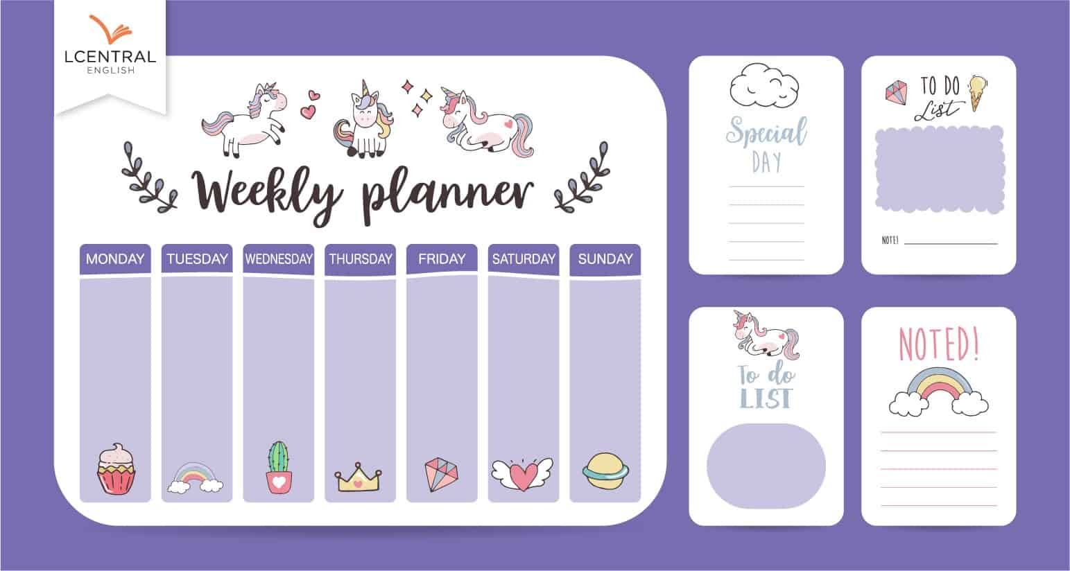 Drawing up timetable and other time management tools